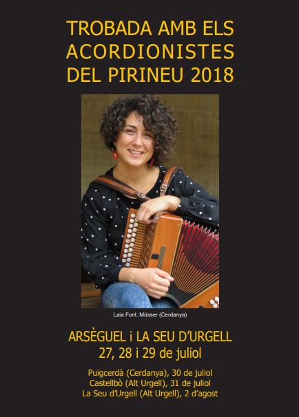 Trobada d'acordionistes del Pirineu 2018