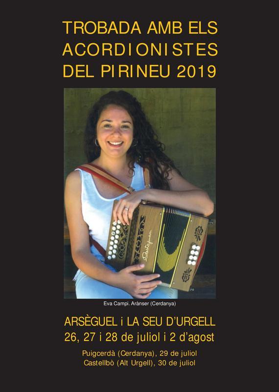 Trobada acordionistes del Pirineu 2019